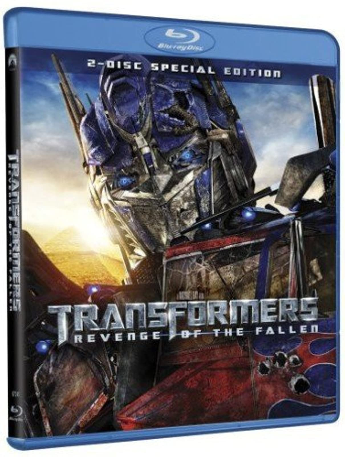 Transformers: Revenge Of The Fallen Blu-Ray On Blu-Ray With Shia