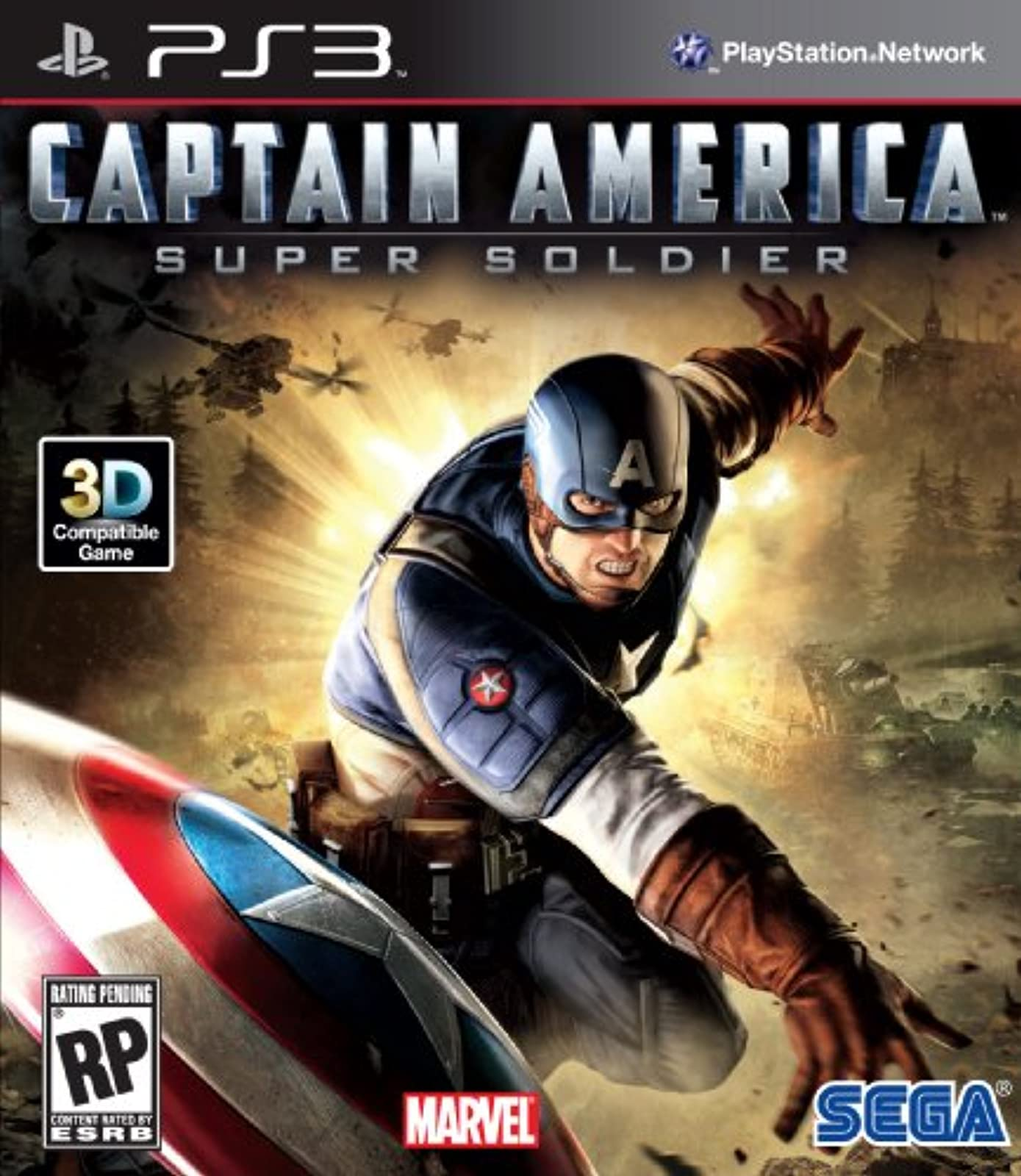 Image 0 of Captain America: Super Soldier For PlayStation 3 PS3
