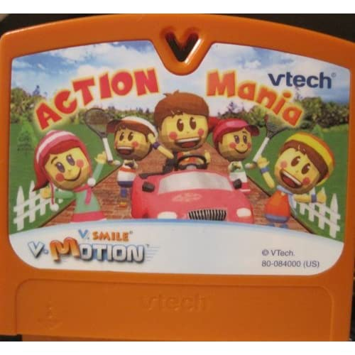 V Smile V Motion Action Mania Game Cartridge For Vtech