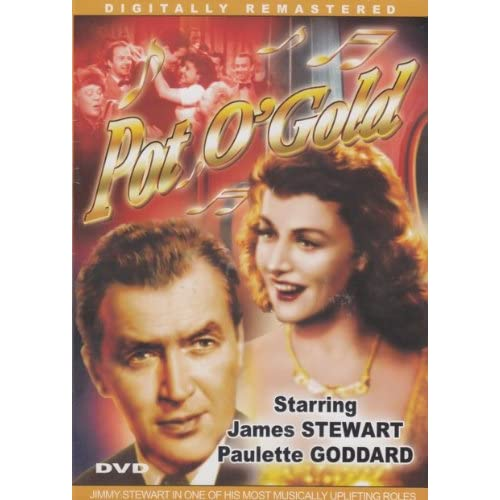 Image 0 of Pot O' Gold Slim Case On DVD With James Stewart
