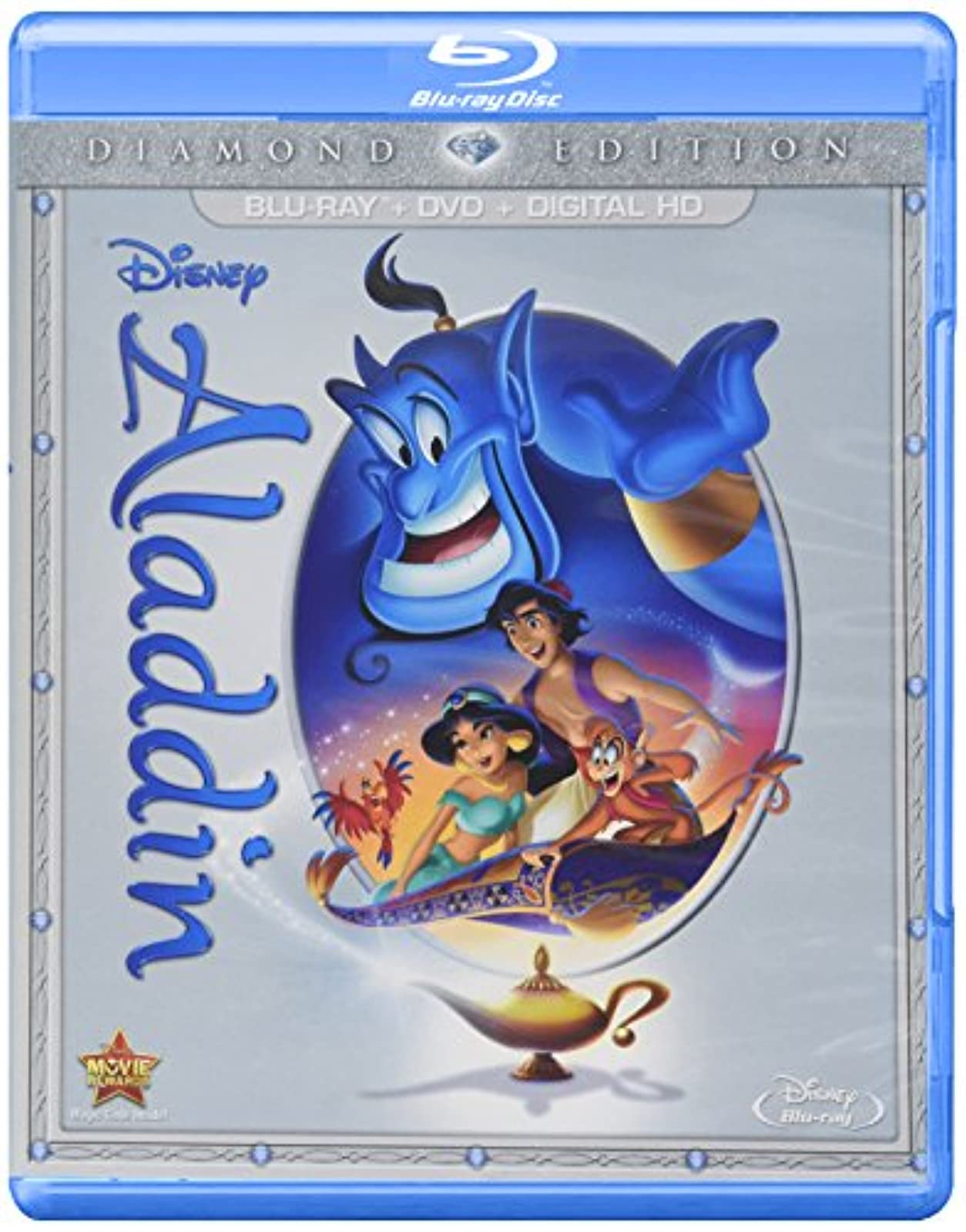 Aladdin: Diamond Edition Blu-Ray/dvd/digital HD On Blu-Ray With Robin Williams D