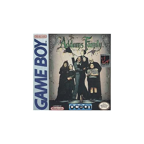 Addams Family On Gameboy