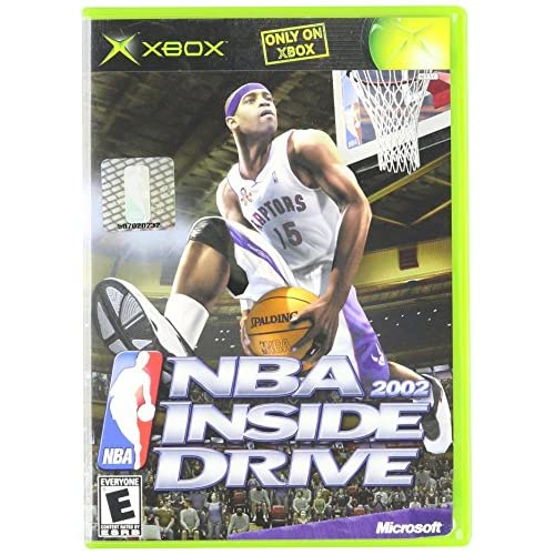 NBA Inside Drive 2002 For Xbox Original Basketball