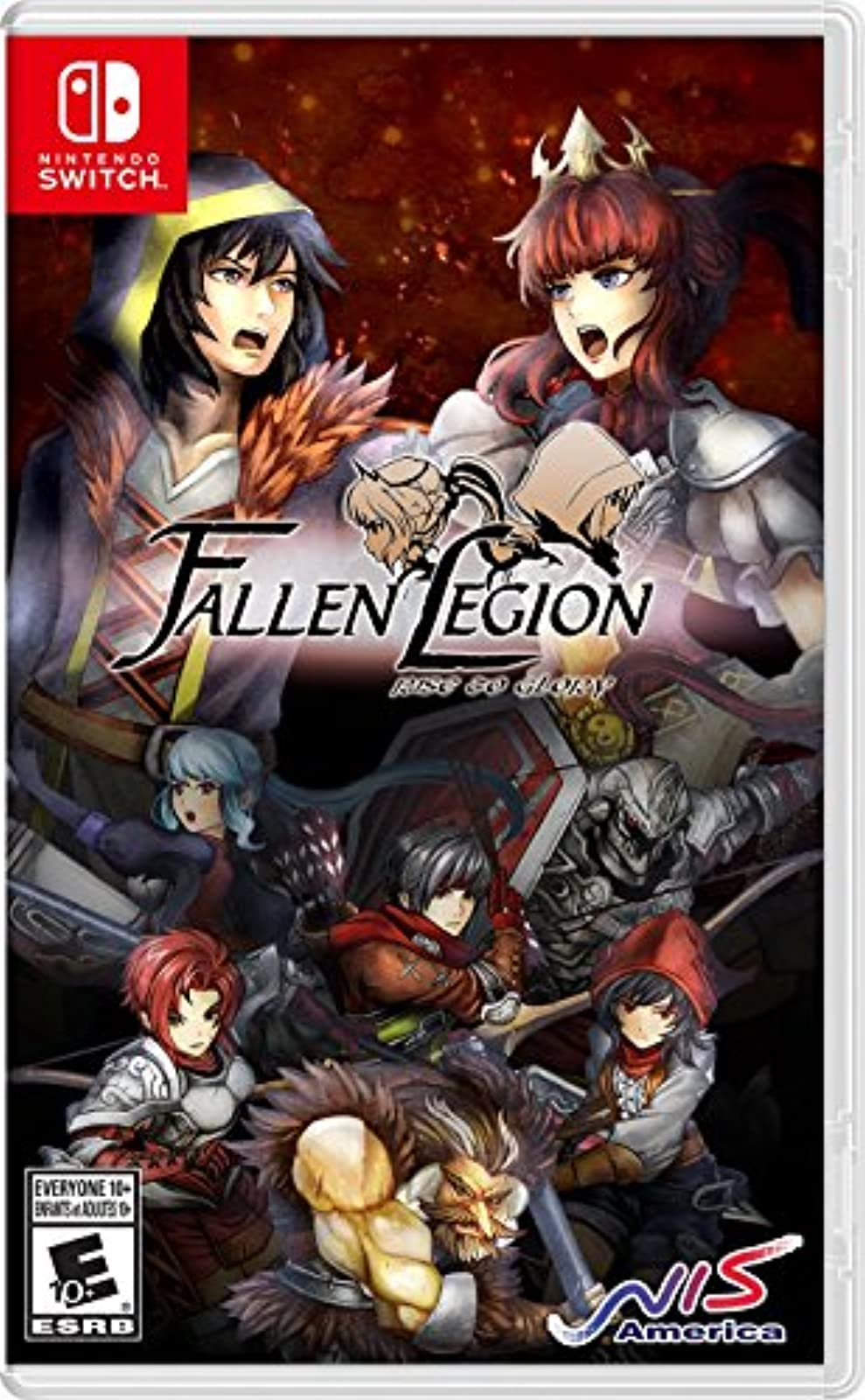 Fallen Legion Rise To Glory For Nintendo Switch