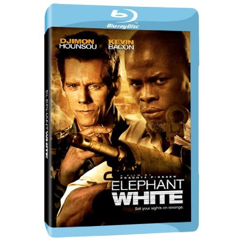 Elephant White Blu-Ray On Blu-Ray With Kevin Bacon