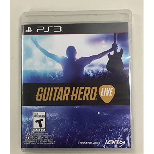 Image 0 of Guitar Hero: Live For PlayStation 3 Game Only PS3 Music