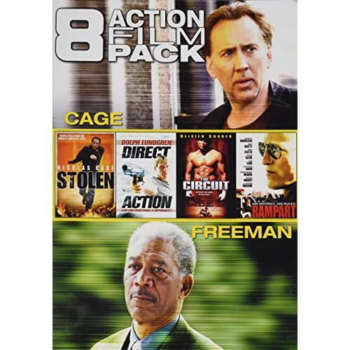 8 Action Film Pack Stolen / Direct Action / The Circuit / Rampart /