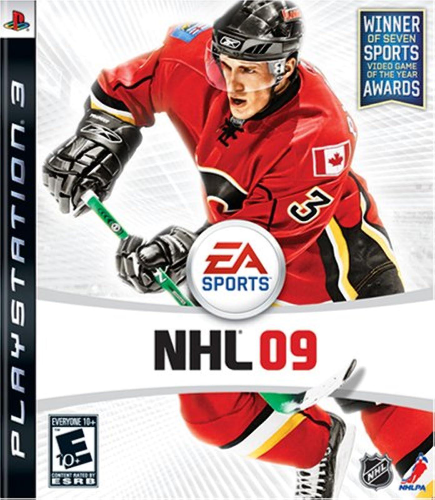 NHL 09 For PlayStation 3 PS3 Hockey