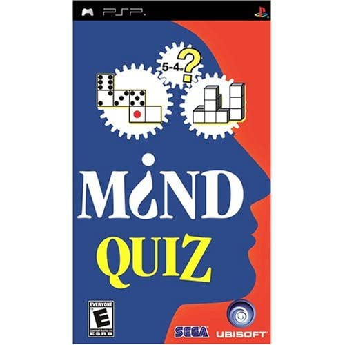 Mind Quiz Sony UMD Puzzle For PSP