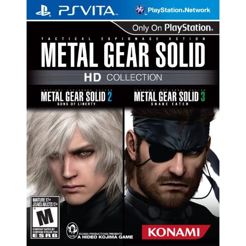 Metal Gear Solid HD Collection For Ps Vita Shooter