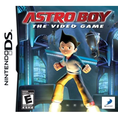 Astro Boy: The Video Game For Nintendo DS DSi 3DS 2DS Shooter