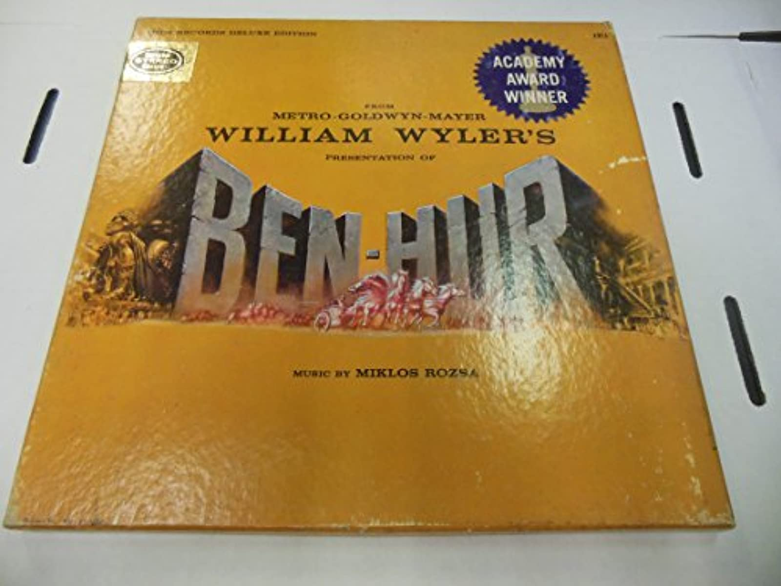From Metro-Goldwyn-Mayer William Wylers Presentation Of Ben-Hur Music By Miklos