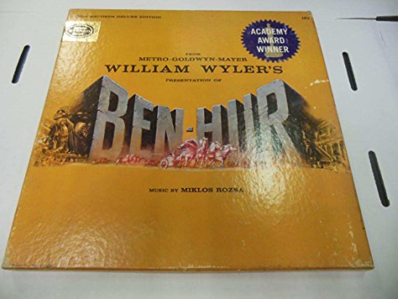 From Metro-Goldwyn-Mayer William Wylers Presentation Of Ben-Hur Music By Miklos