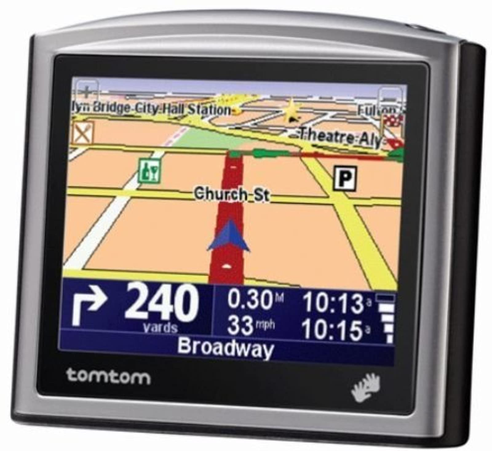 TomTom One Portable GPS Vehicle Navigator Automotive One ONE