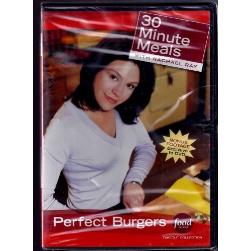30 Minute Meals With Rachael Ray Perfect Burgers On DVD