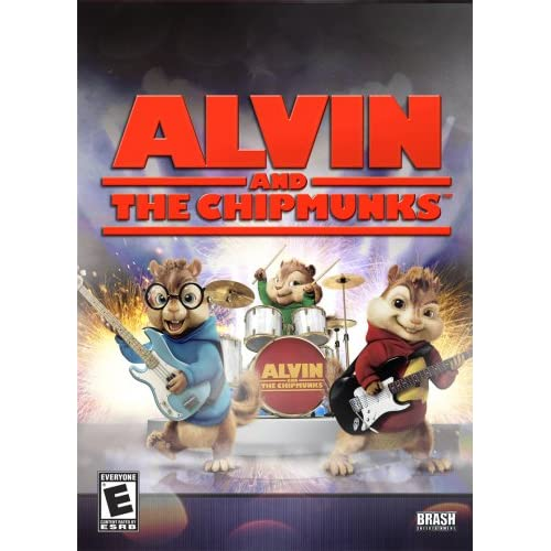 Alvin And The Chipmunks For Nintendo DS DSi 3DS 2DS