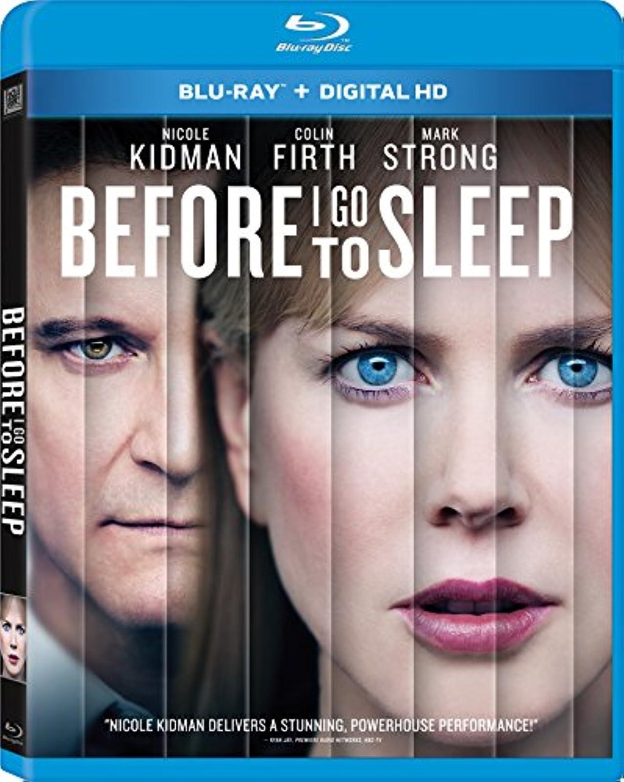 Before I Go To Sleep Blu-Ray On Blu-Ray With Nicole Kidman Mystery