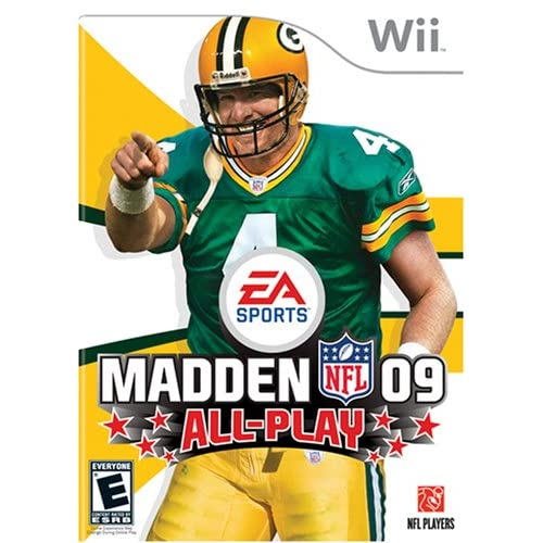 Madden NFL 09 All-Play For Wii And Wii U Football