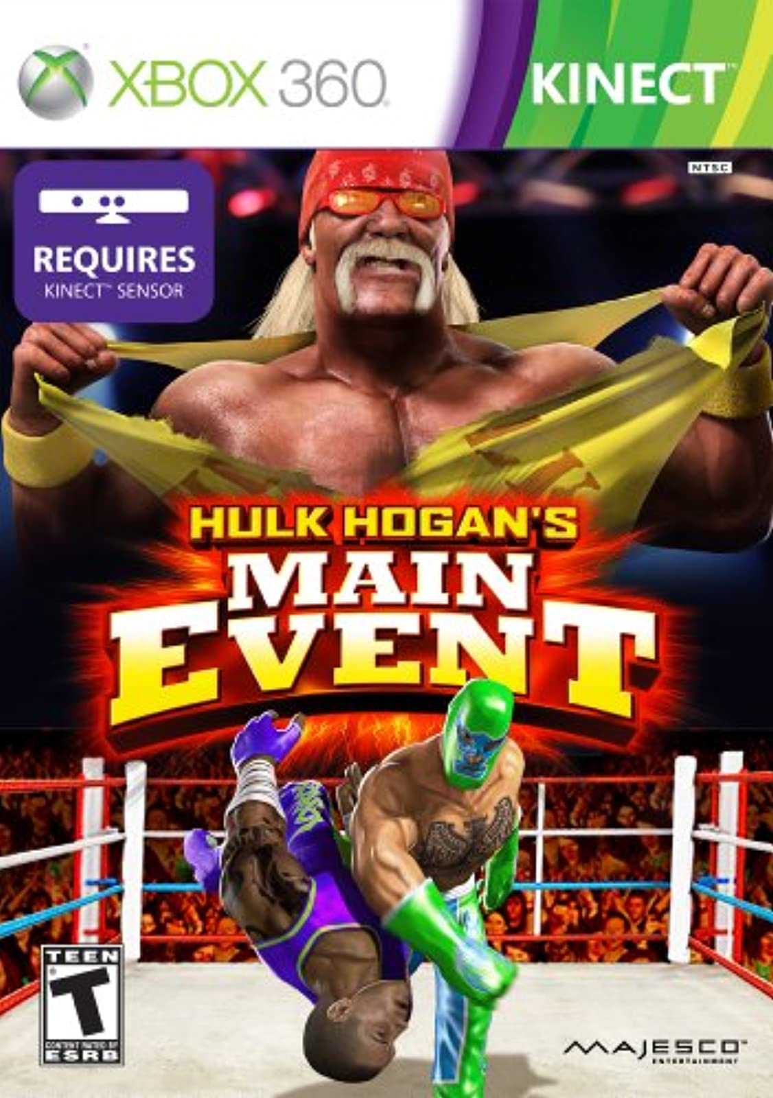 Hulk Hogan's Main Event For Xbox 360 Wrestling