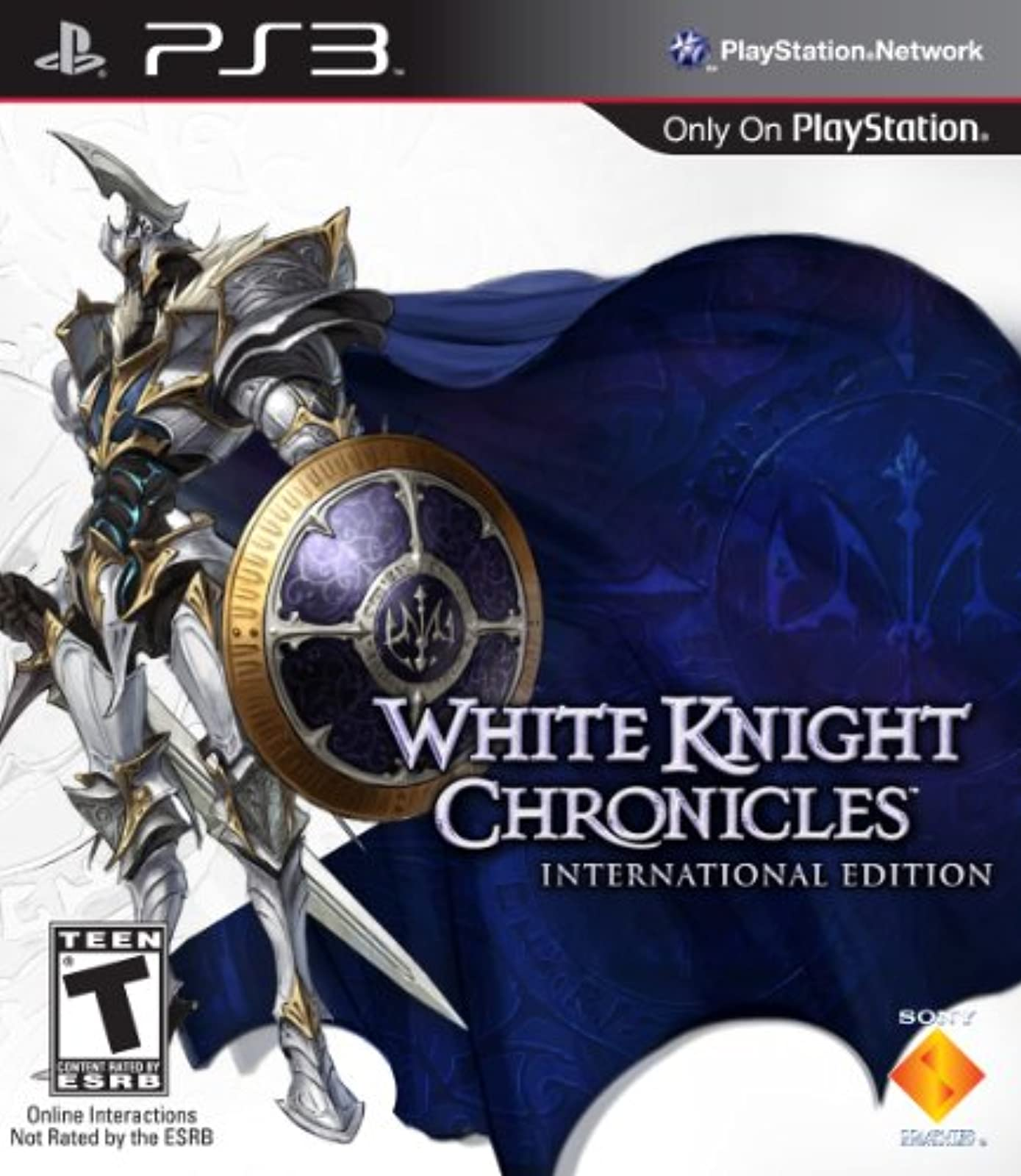 White Knight Chronicles International Edition For PlayStation 3 PS3 RPG