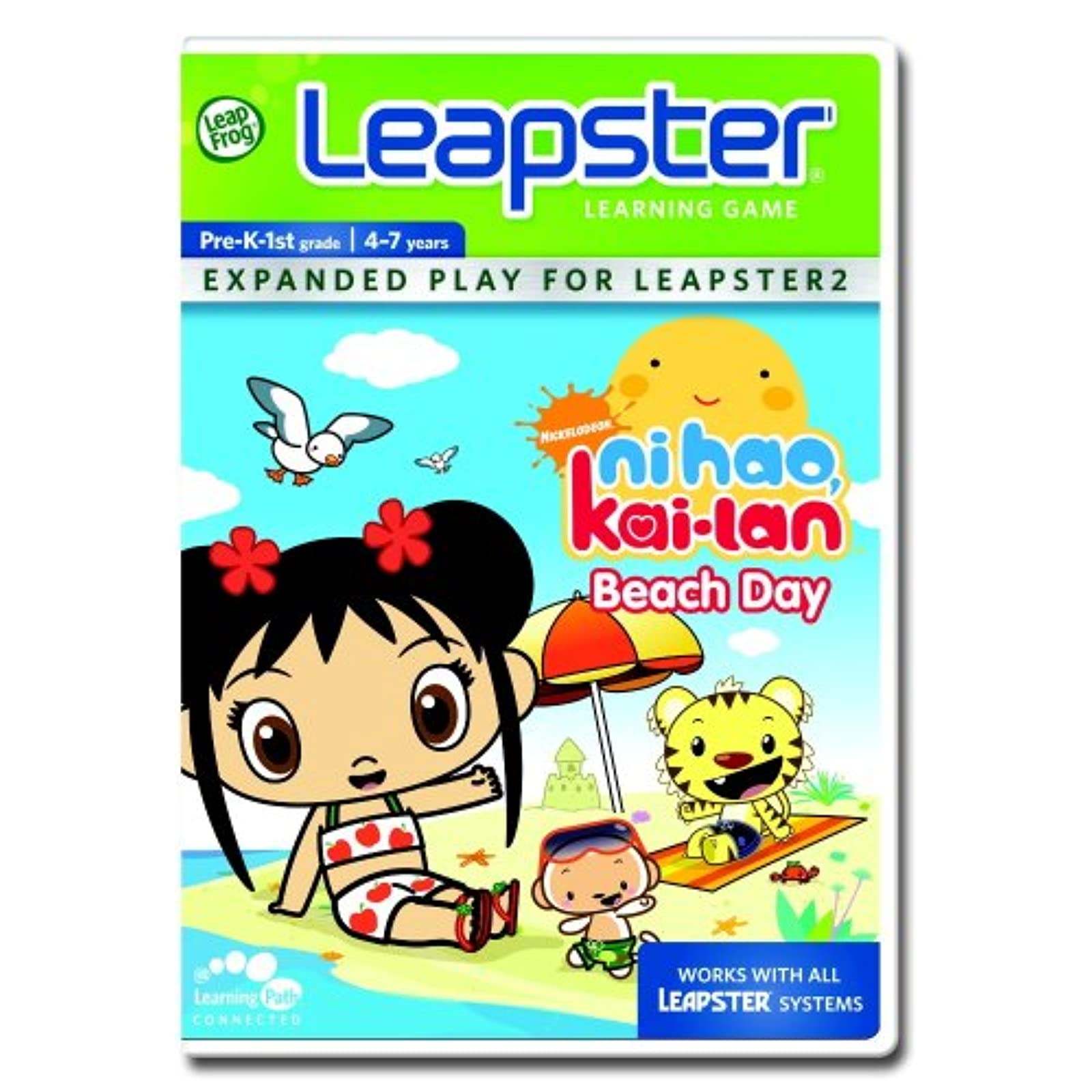 Leapfrog Leapster Learning Game Ni Hao Kailan For Leap Frog