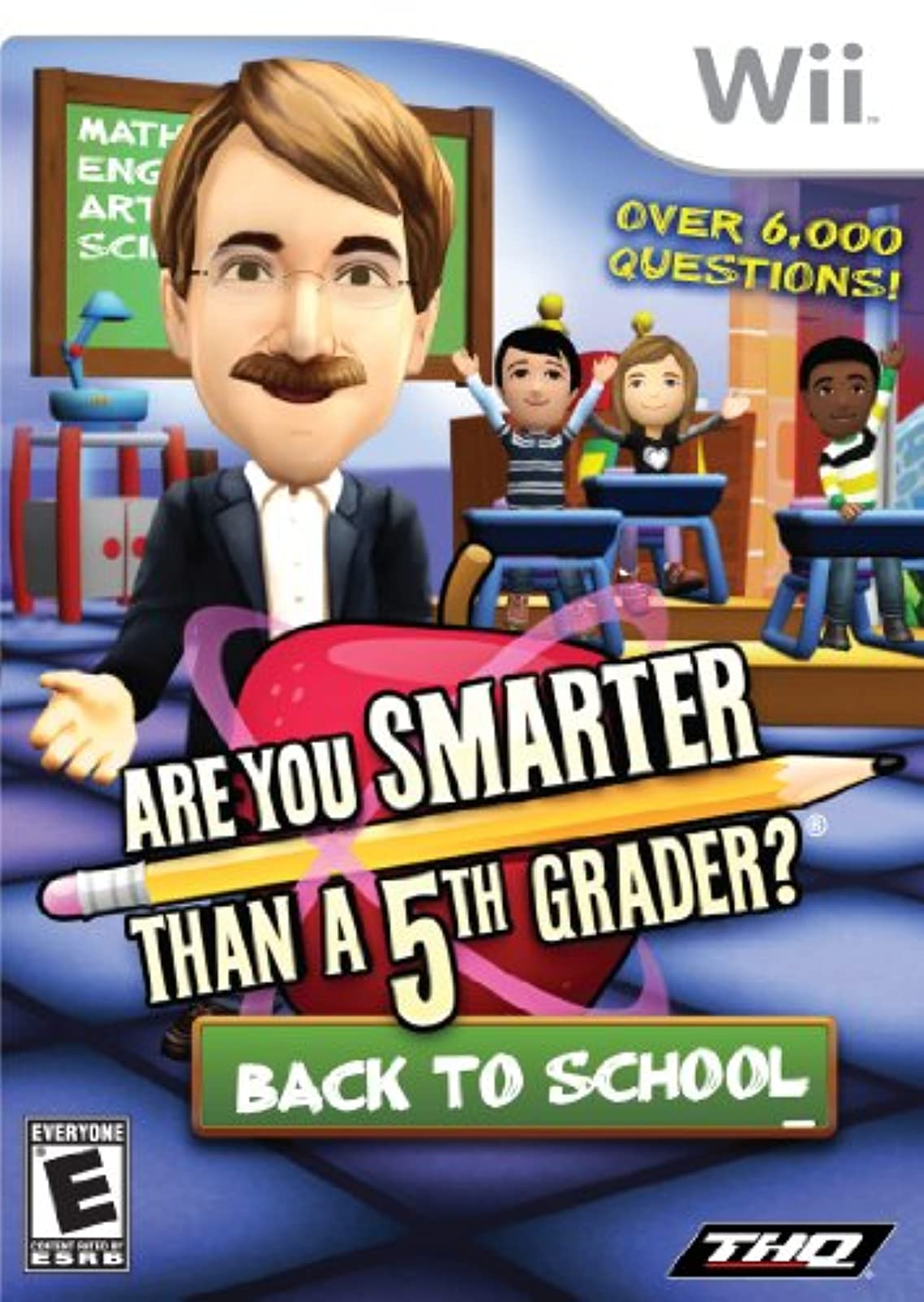 Are You Smarter Than A 5th Grader: Back To School For Wii and Wii U