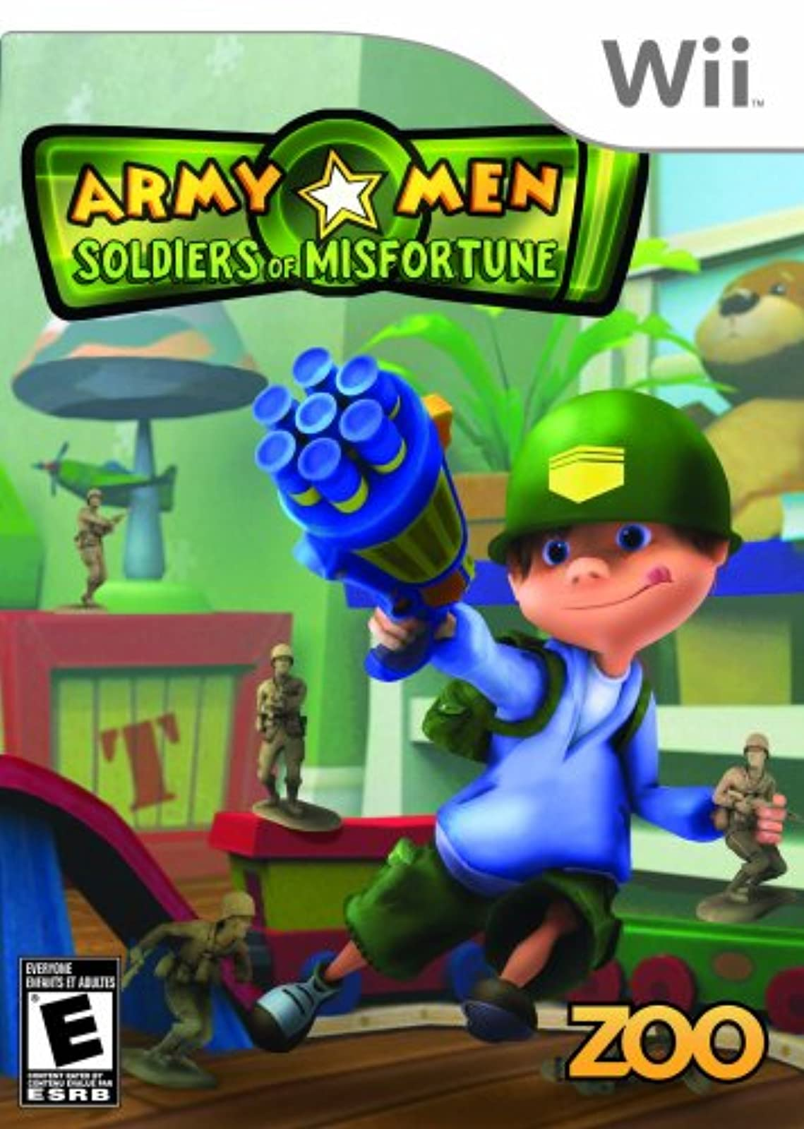Army Men Soldiers Of Misfortune For Wii