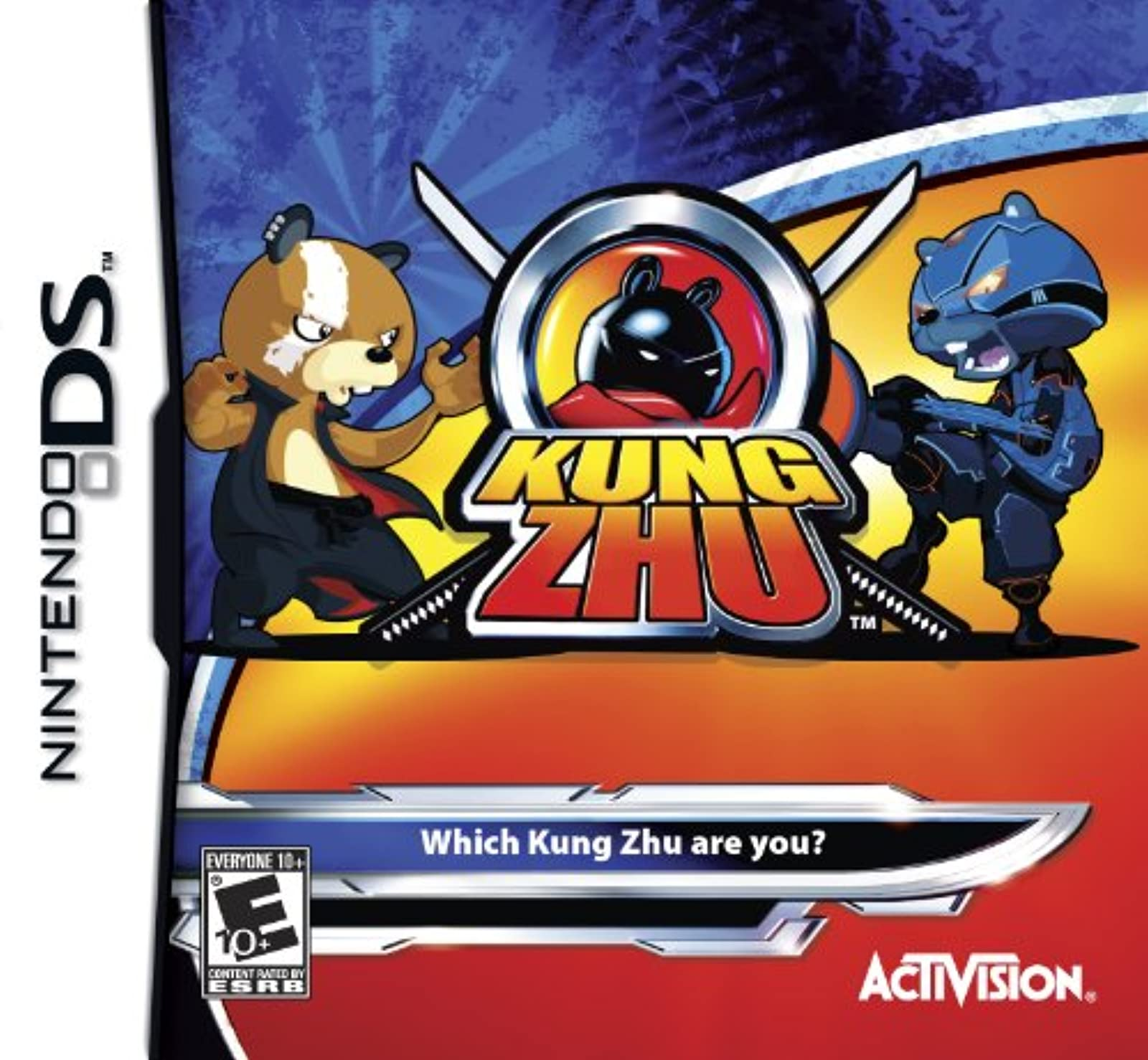 Kung Zhu For Nintendo DS DSi 3DS 2DS