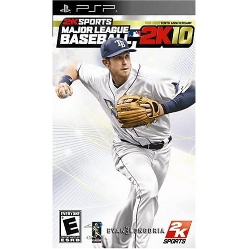 MLB 2K10 Sony For PSP UMD Baseball