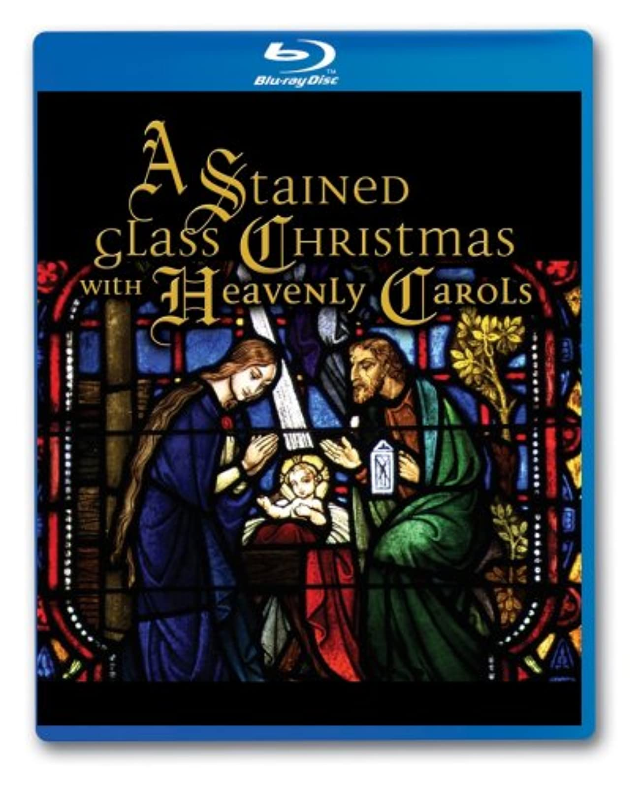 A Stained Glass Christmas With Heavenly Carols Blu-Ray