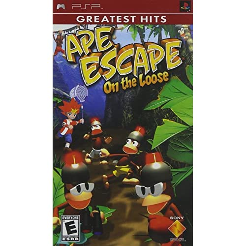 Ape Escape On The Loose For PSP UMD