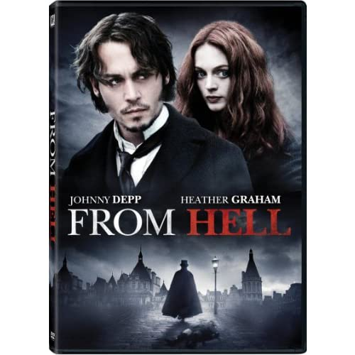 From Hell Widescreen Edition On DVD with Johnny Depp Horror