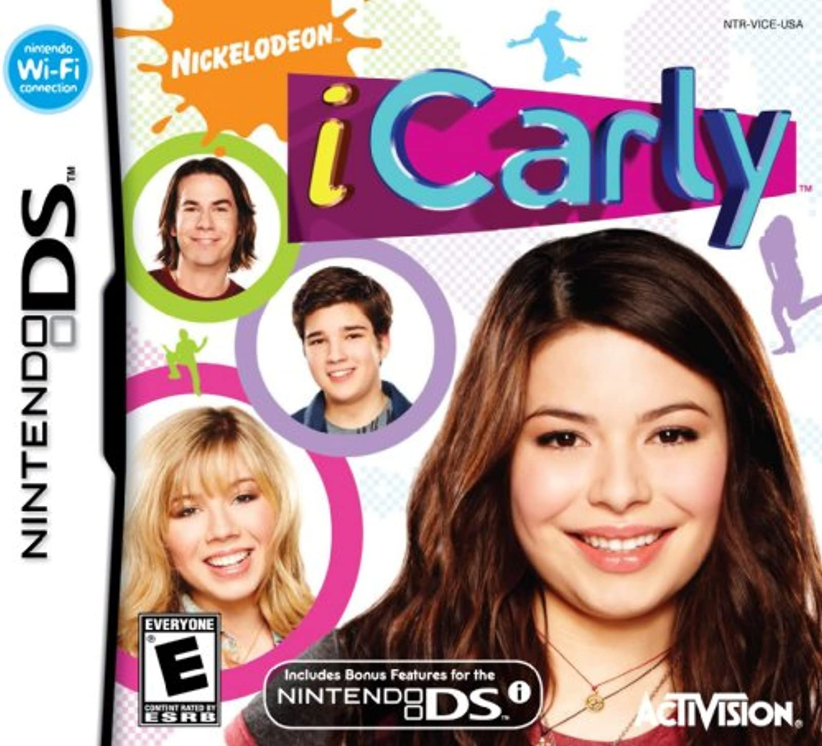 Icarly For Nintendo DS DSi 3DS 2DS Trivia