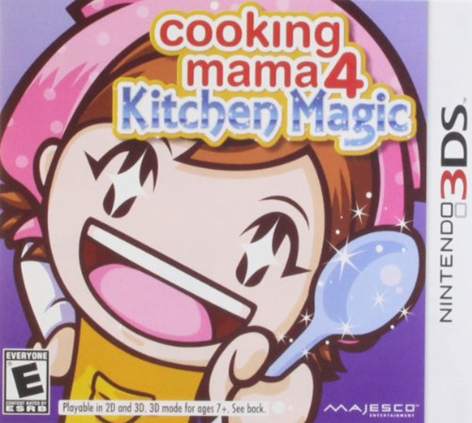 Cooking Mama 4: Kitchen Magic Nintendo For 3DS RPG