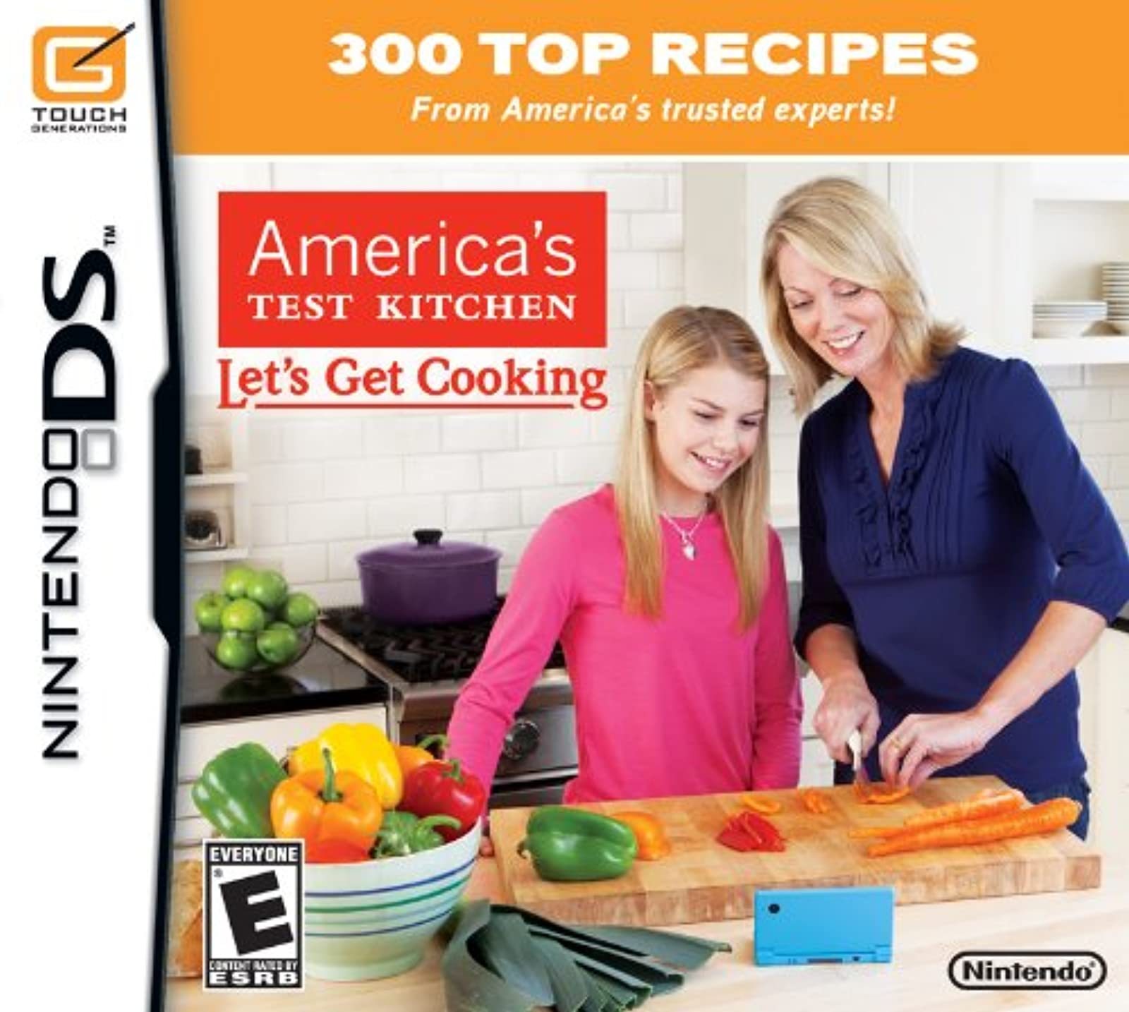 America's Test Kitchen: Let's Get Cooking For Nintendo DS DSi 3DS 2DS