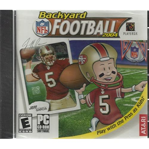 Backyard NFL Football Play With The Pro's As Kids! Windows 98/XP Software