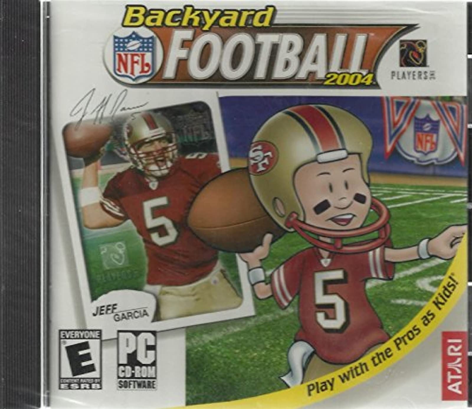 Backyard Football Play With The Pro's As Kids! Windows 98/XP Software