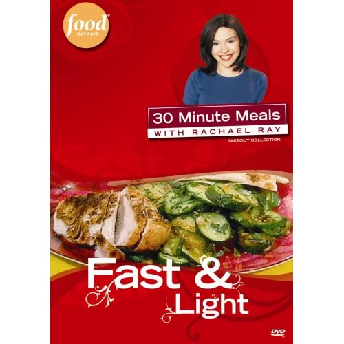 30 Minute Meals With Rachael Ray Fast & Light On DVD