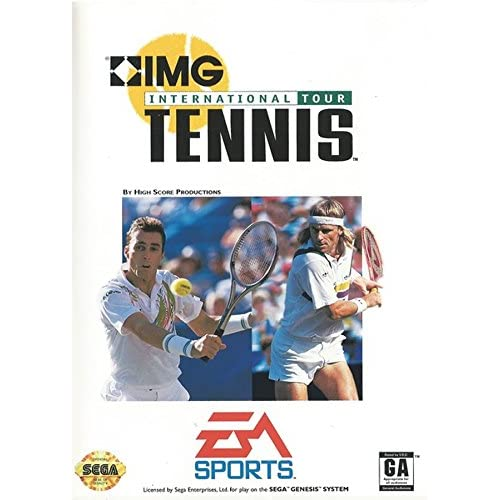 Img International Tennis For Sega Genesis Vintage