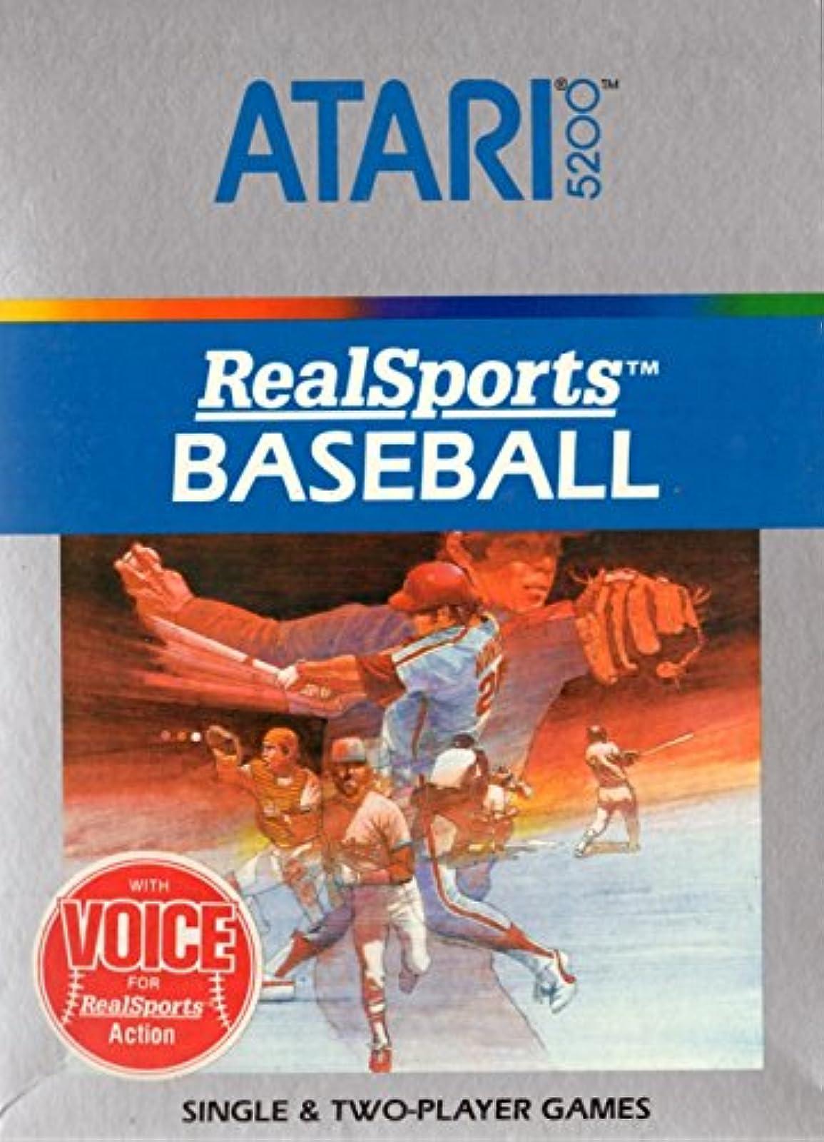 Realsports Baseball For Atari Vintage