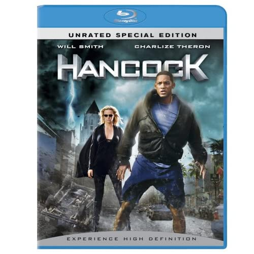 Image 0 of Hancock Unrated Special Edition On Blu-Ray With Will Smith