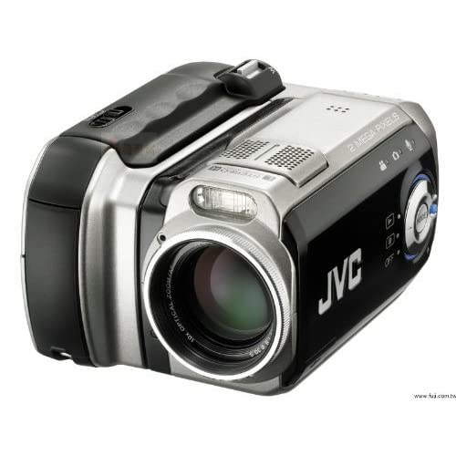 JVC Everio GZMC200 2MP 4GB Microdrive Camcorder W/10X Optical Zoom Camera
