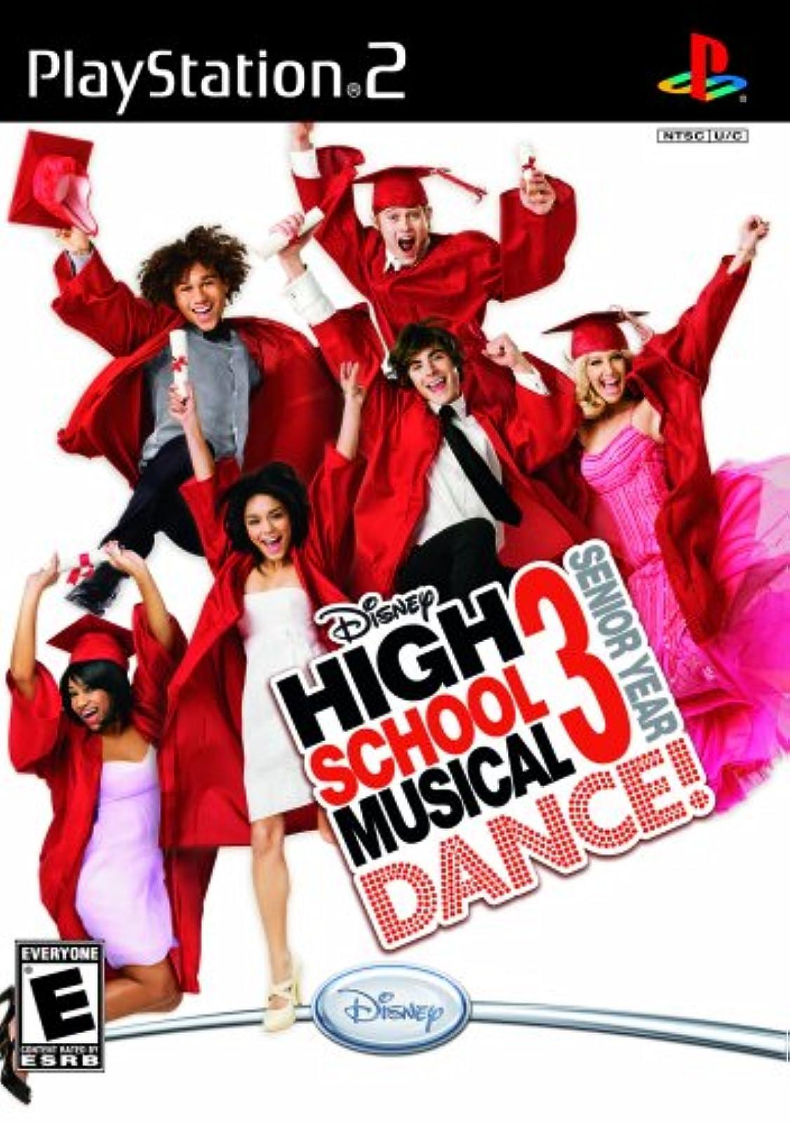 Disney High School Musical 3: Senior Year Dance! For PlayStation 2 PS2