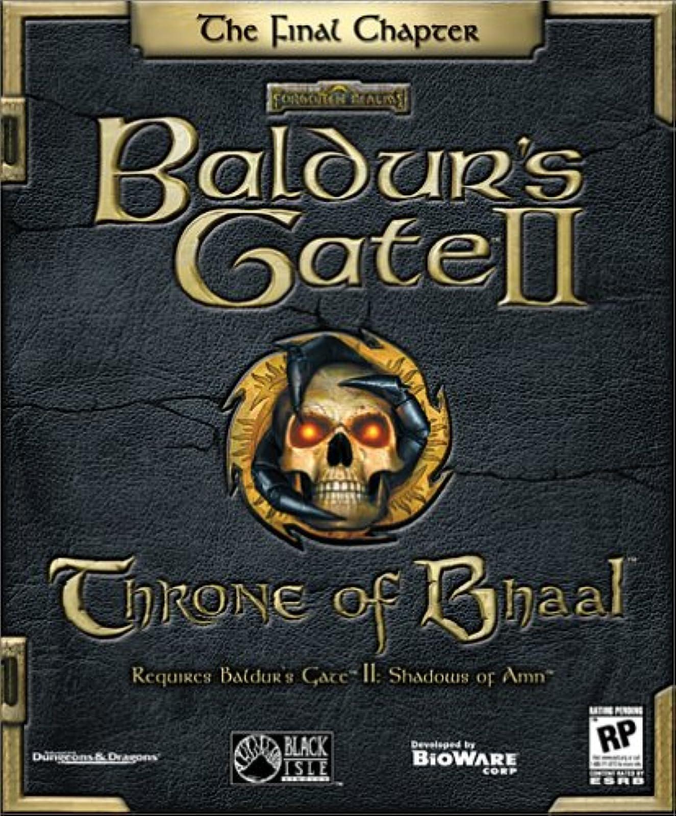 Baldur's Gate 2 Expansion: Throne Of Bhaal PC Software RPG