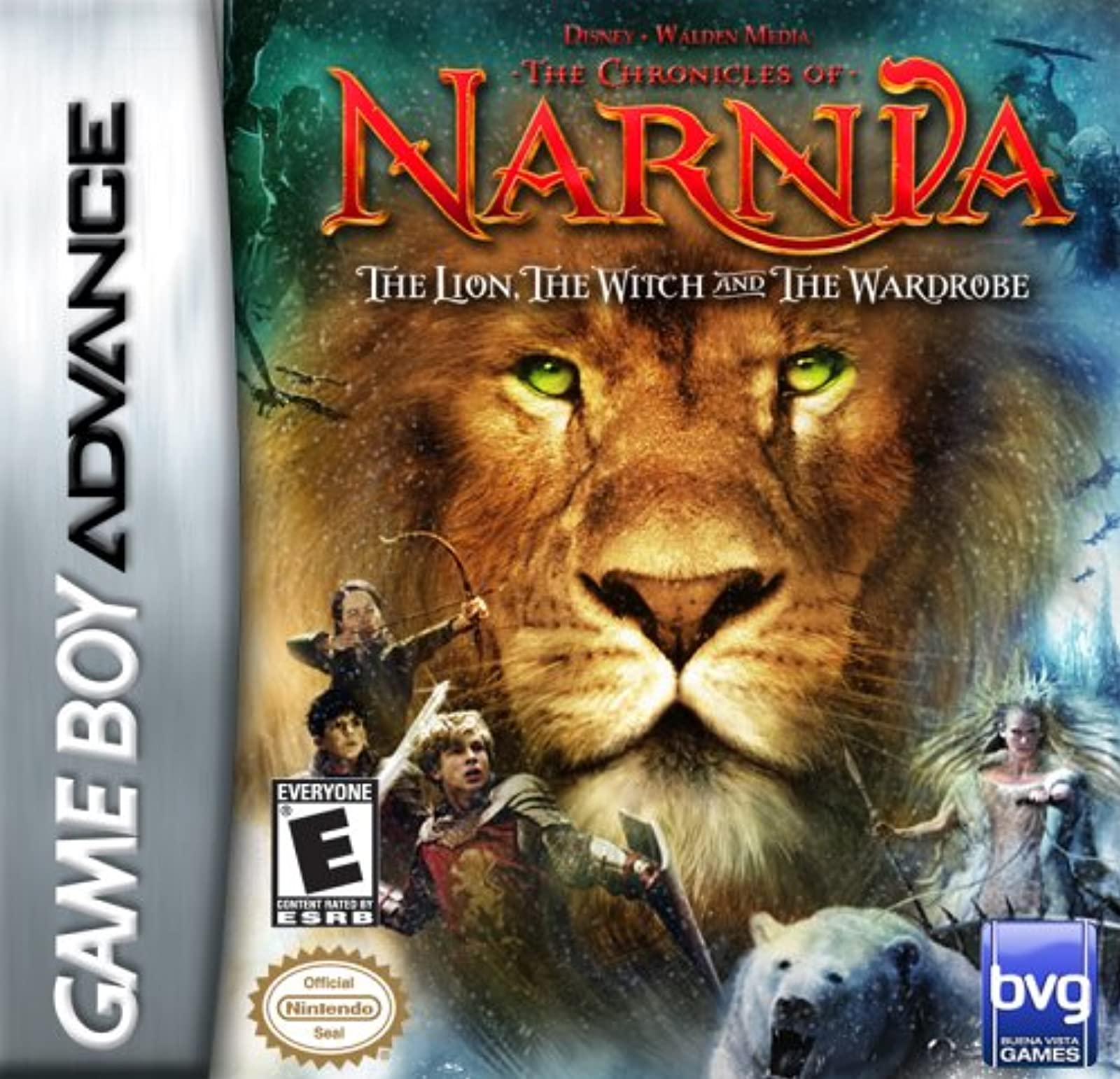The Chronicles Of Narnia The Lion The Witch And The Wardrobe For GBA