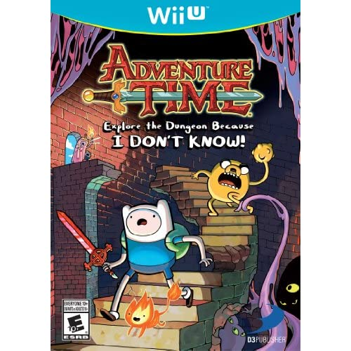Adventure Time: Explore The Dungeon Because I Don't Know! Wii U For Wii U