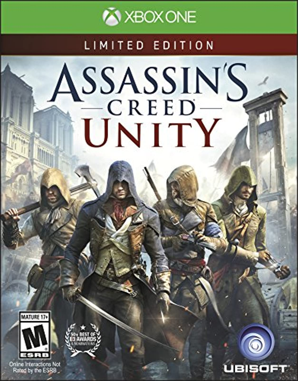 Assassin's Creed Unity For Xbox Original Action For Xbox One