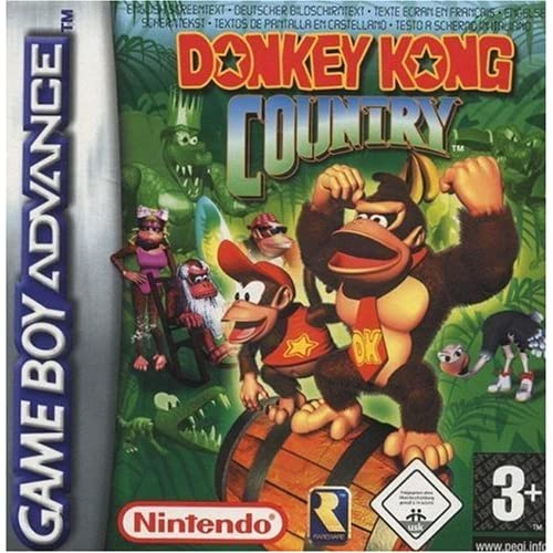 Donkey Kong Country For GBA Gameboy Advance