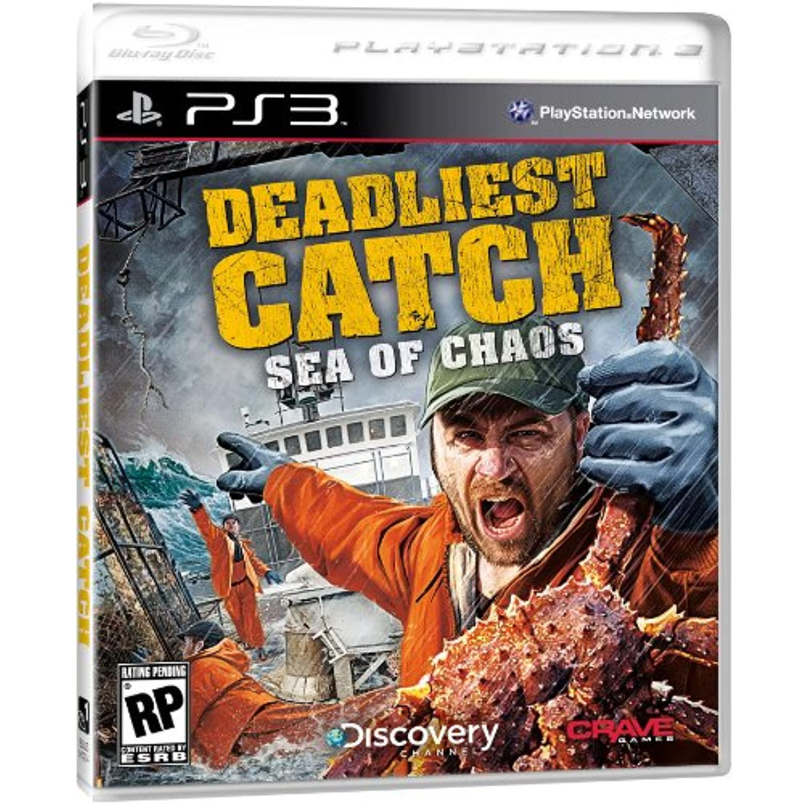 Deadliest Catch: Sea Of Chaos Game PS3 For PlayStation 3