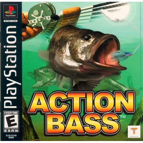 Action Bass For PlayStation 1 PS1